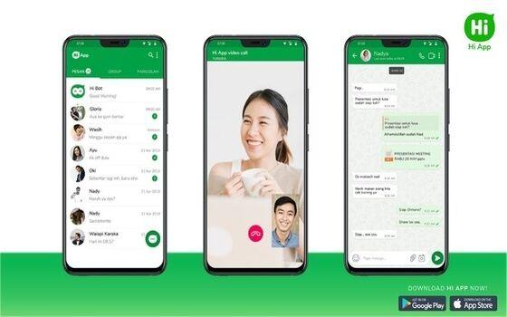 Aplikasi Buatan Indonesia Yang Bisa Jadi Pengganti WhatsApp Hi App Fb50d