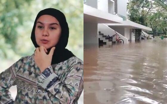 Artis Indonesia Yang Rumah Elitnya Kebanjiran Irish Bella B2948