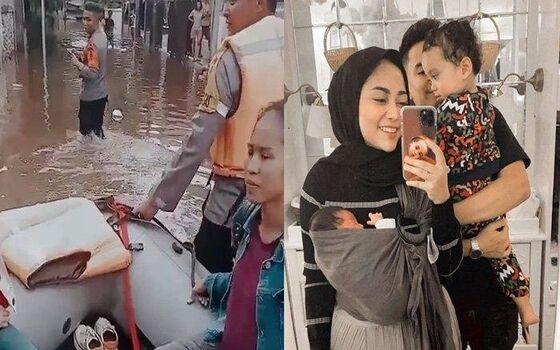 Artis Indonesia Yang Rumah Elitnya Kebanjiran Rachel Vennya F4504