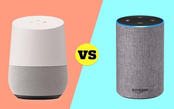 Perusahaan Teknologi Yang Menjiplak Pesaingnya Amazon Echo Vs Google Home 4e111