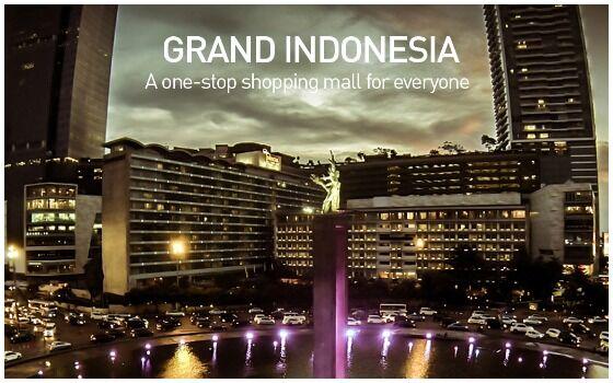 Mall Terbesar Dan Paling Mewah Di Indonesia Grand Indonesia 25f34