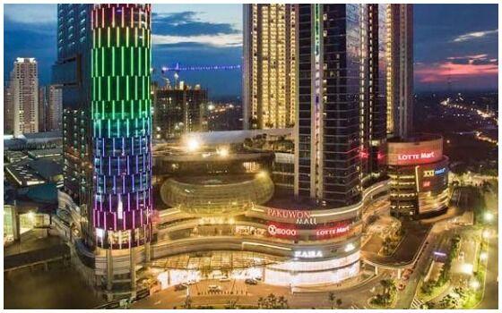 Mall Terbesar Dan Paling Mewah Di Indonesia Pakuwon Mall 55c8a