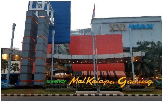 Mall Terbesar Dan Paling Mewah Di Indonesia Summarecon Mall Kelapa Gading 72512