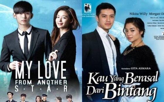 Sinetron Indonesia Yang Menjiplak Film Luar Negeri Kau Yang Berasal Dari Bintang 04269