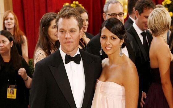 Aktor Yang Menikahi Fansnya Sendiri Matt Damon Dan Luciana Barroso Fbc10