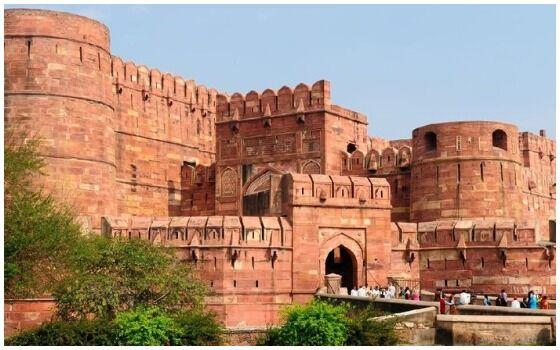 Bangunan Islam Paling Menakjubkan Di Dunia Benteng Agra 8201d