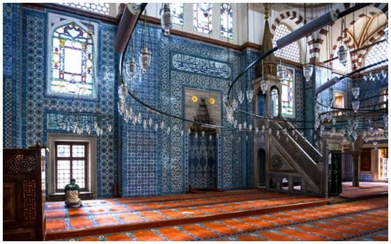 Bangunan Islam Paling Menakjubkan Di Dunia Masjid Rustem Pasha 9ff88