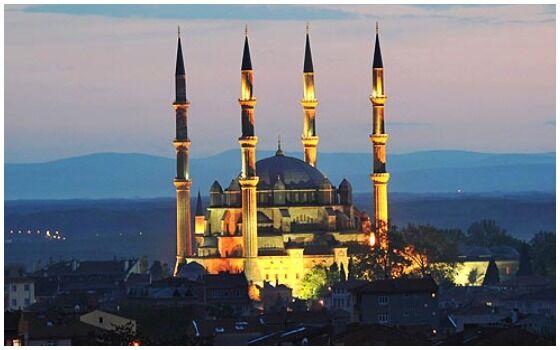 Bangunan Islam Paling Menakjubkan Di Dunia Masjid Selimiye 671d1