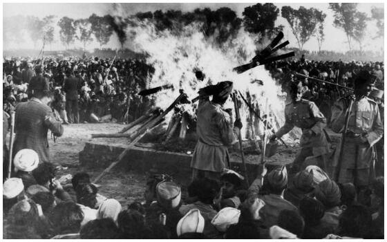 Foto Foto Pemakaman Mahatma Gandhi Di New Delhi India 2bb5c