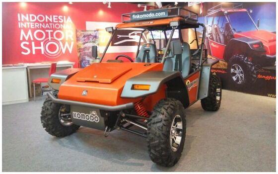 Mobil Buatan Indonesia Yang Mendunia Fin Komodo 90ac8