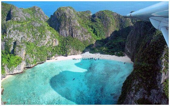 Tempat Wisata Yang Ditutup Karena Ulah Manusia Maya Bay Phi Phi Island 417f0
