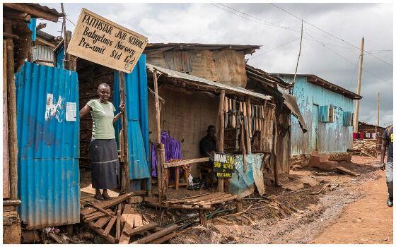 Tempat Paling Buruk Di Dunia Untuk Jadi Tempat Tinggal Kibera Nairobi 4b72f