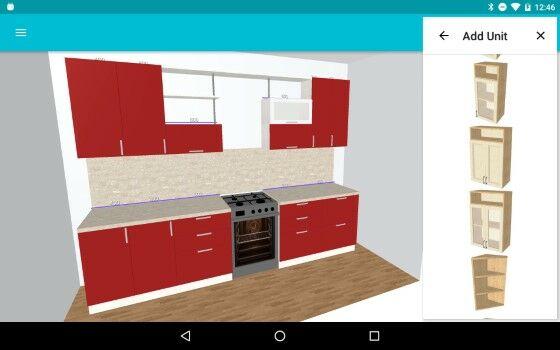 Kitchen Planner 3D D1f16