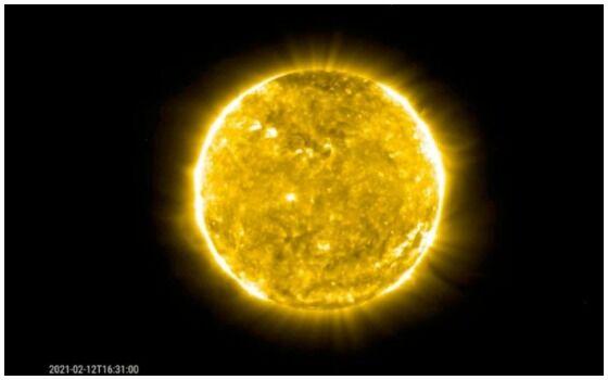 Ledakan Matahari Terekam 23991