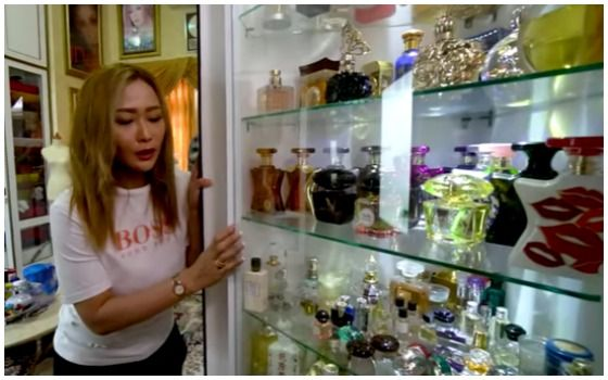 Potret Rumah Inul Daratista Yang Mewah Dan Megah Koleksi Parfum Mewah 3f862