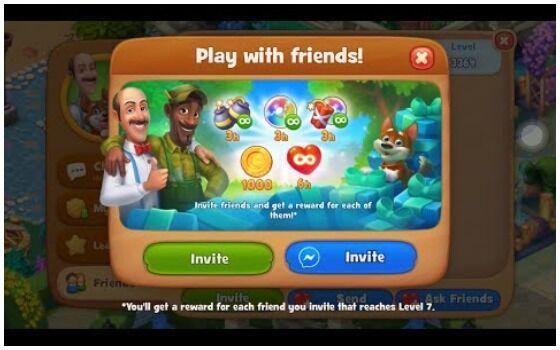 Gardenscapes Fitur Multiplayer 017d0