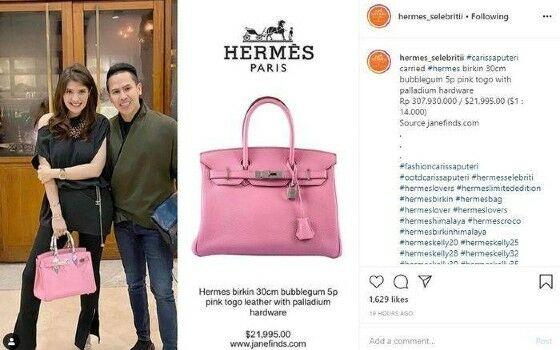 Carissa Putri Pakai Tas Hermes Untuk Makan C1b08