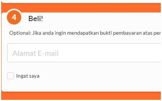 Cara Top Up Mobile Legends Pakai Pulsa XL Axis Dan Indosat Masukkan Alamat Email E6c85
