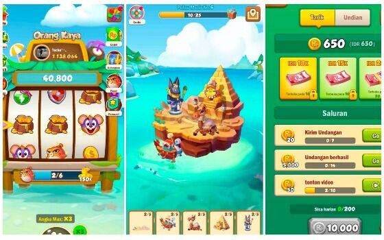 Game Penghasil Saldo DANA Island King 64999