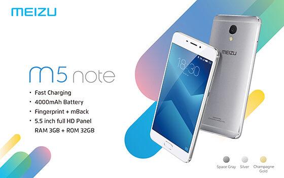 Meizu M5 Note 7