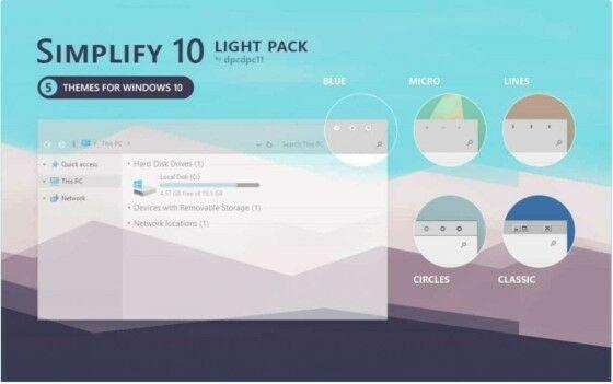 Download Theme Windows 10 Terbaik Tema Simplify 10 B6beb