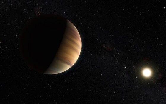 Ilustrasi Eksoplanet National Geographic Bc264