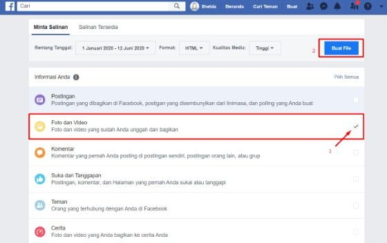 Cara Mengembalikan Postingan Di Fb Yang Sudah Dihapus Custom 58a74
