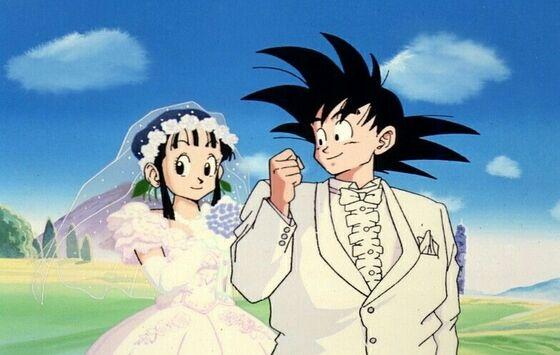 Gambar Anime Couple Keren Goku D4e4f