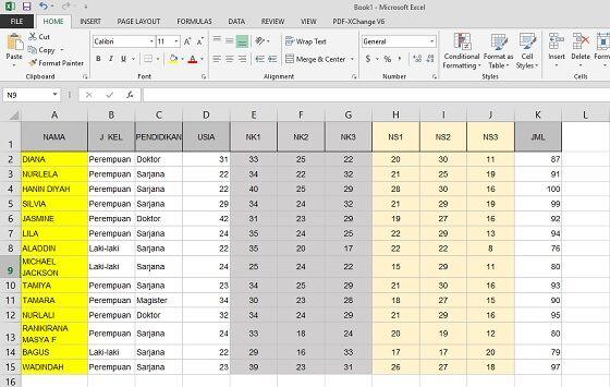 Cara Freeze Excel 1 0b681