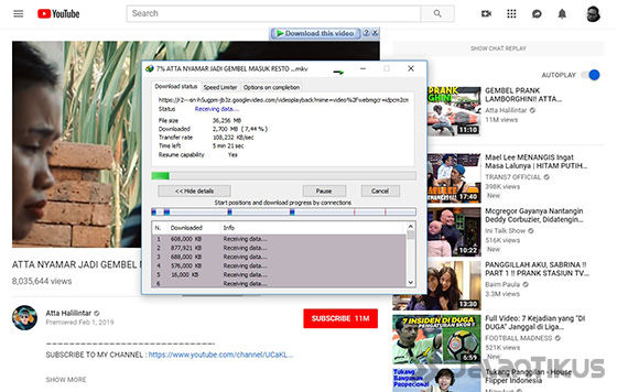 Cara Download Video Youtube Idm 04 C460d