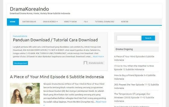 Situs Download Drakor Subtitle Indonesia 12451
