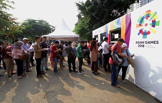 Loket Tiket Offline Asian Games 2018 49b01