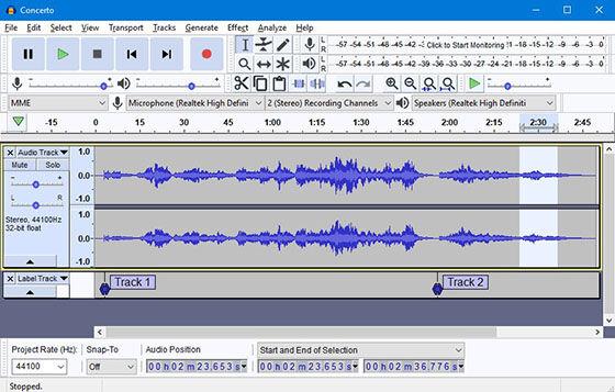 Aplikasi Edit Suara Audacity 4b22e