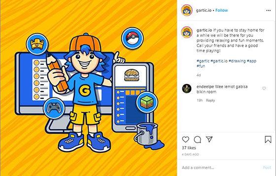 Gartic Io Instagram 7df59