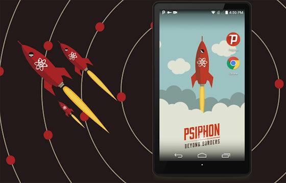 Aplikasi Internet Gratis Psiphon Pro E9681