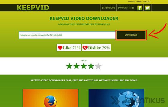 Download Youtube Tanpa Software Keepvid 03 F3c56
