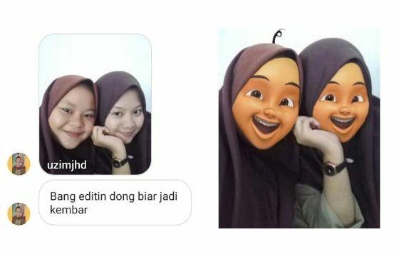 Kocak Editan Master Photoshop Bikin Ngakak 49833