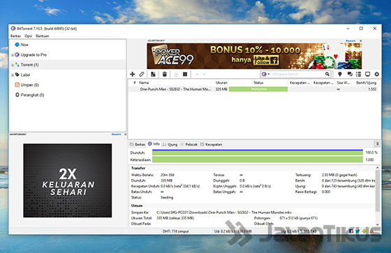 cara download torrent dengan bittorrent 06