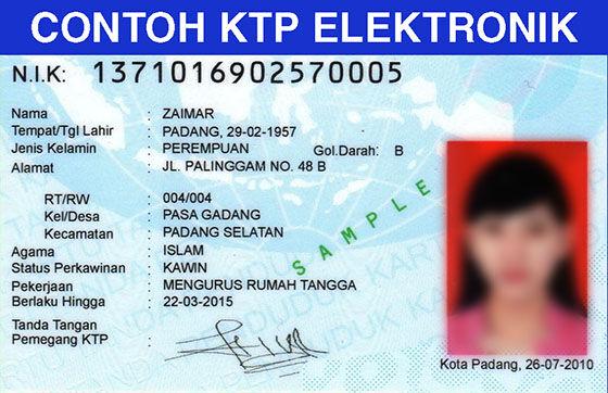 Contoh Ktp Elektronik 63c73