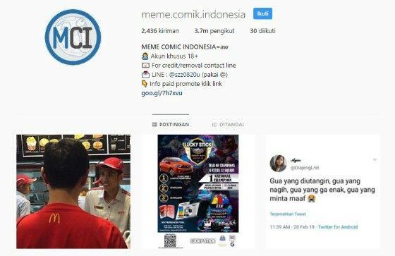 Akun Instagram Lucu Kocak 3 30cba