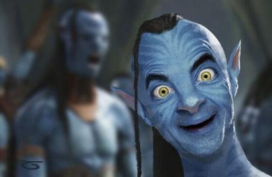 Mr Bean Korban Master Photoshop 2
