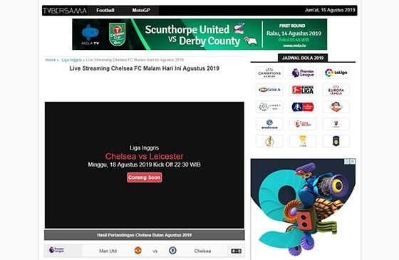 Situs Streaming Bola Indonesia 01e3a