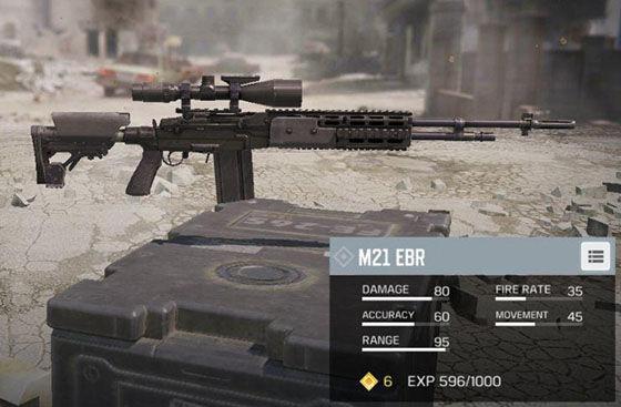 Senjata Terbaik Cod Mobile M21 Ebr 24099