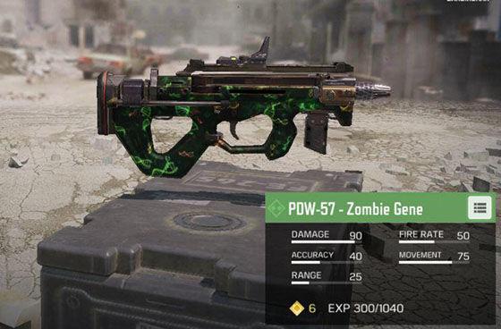 Senjata Terbaik Cod Mobile Pdw 57 Zombie Gene Ec5c1
