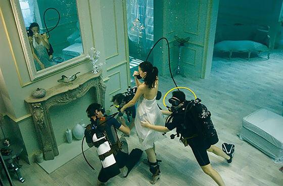 Begini Loh Perjuangan Underwater Photoshoot 2
