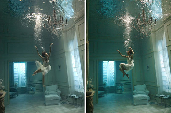 Begini Loh Perjuangan Underwater Photoshoot