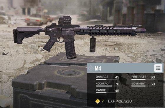 Senjata Terbaik Cod Mobile M4 37041