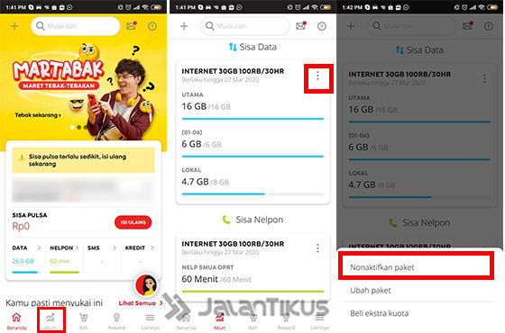 Cara Unreg Paket Indosat Via MyIM3 2d784