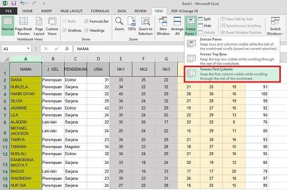 Cara Freeze Excel 5 7bbc6