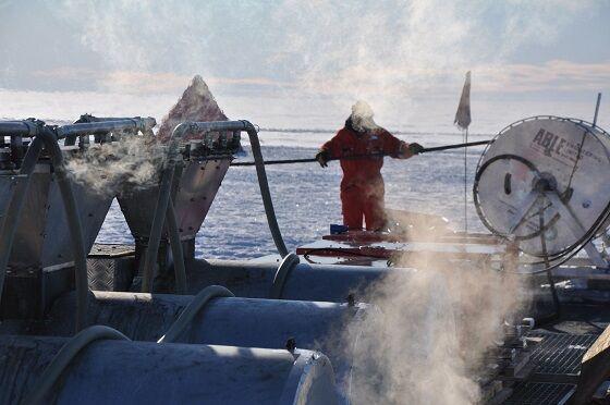 Proses Pemanasan Air Di Ice Shelf Antartika British Antarctic Survey 4aa62